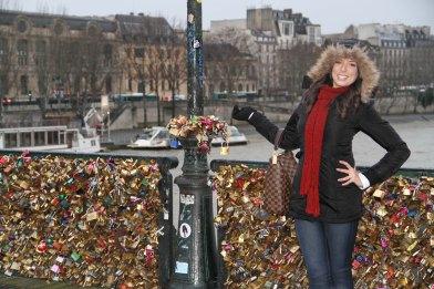 Ponte dos Cadeados - Paris